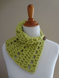 Fiber Flux...Adventures in Stitching: Free Crochet Pattern...Key Lime Neck Wrap