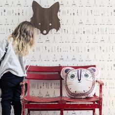 Native Kid's Wallpaper design by Ferm Living