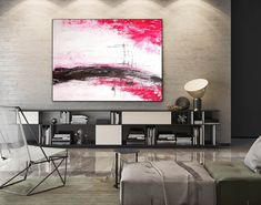 Large Modern Wall Art Painting,Large Abstract Painting on Canvas,huge canvas art,huge canvas painting,home decor wall art Oversized Canvas Art, Large Canvas Art, Abstract Canvas Art, Canvas Paintings, Painting Abstract, Acrylic Art, Painting Art, Wall Canvas, Bedroom Paintings