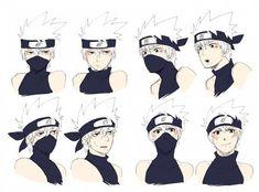 Kakashi as a twelve year old. Anime Naruto, Kurama Naruto, Naruto Cute, Naruto Shippuden Anime, Kid Kakashi, Kakashi Sensei, Itachi, Kakashi Hatake Face, Kakashi Funny