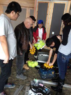 #robotics team tecking 6046 in full swing in king city