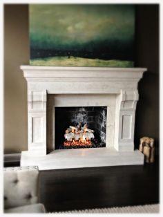 Fireplace Logs, Gas Logs, Hearth, Birch, Southern, Mountain, Home Decor, Log Burner, Home