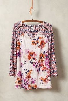 Peasant Top #anthrofave #anthropologie| I have this shirt and I LOVE IT! | Jane Beeson