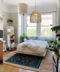 Bedroom Layouts, Room Ideas Bedroom, Bedroom Decor, Bedroom Designs, Dispositions Chambre, Be Design, Aesthetic Bedroom, Contemporary Bedroom, Dream Decor