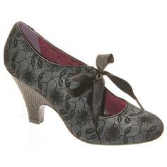 Poetic Licence Shoes Sweet Ending Grey Heels