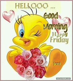 Hello..Good Morning..Happy Friday.