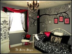 I wan to do this to Chloe's room ASAP!!!!!!!!!!!!
