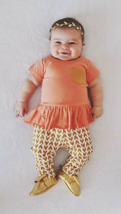 Taylor Joelle Designs: Kids Street Style - Hipster Baby Girl   how cute is this outfit??? ps- can only hope she's chunky like this :)