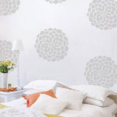 Bloom Wall Pattern Decal @Layla Grayce