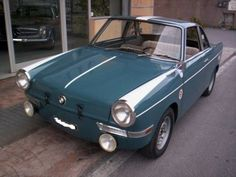 1964 BMW 700 Coupe    Most microcars are purely decorative, but the BMW 700 coupes were campaigned in serious events like the Rallye Monte Carlo and the Nuerburgring endurance races.