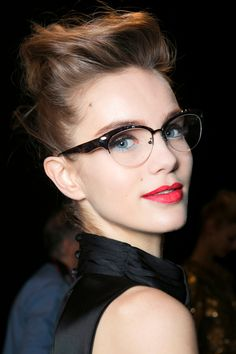 f14993a40b1 8 Makeup Mistakes to Avoid When Youre Wearing Glasses Beauty Makeup