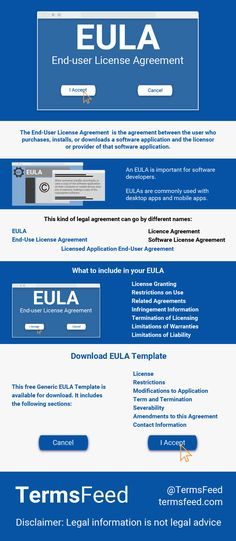 27 Best Eula Images In 2019 End User App Mobile App