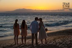 Ending a beautiful day with a gorgeous Maui sunset.  Photo by www.TadCraigPhotography.com