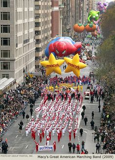Macy's Thanksgiving Parade, New York City, New York