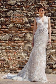 Есенска колекција 2014 на невестински фустани од Francesca Miranda | runway