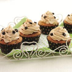 Cappucino cupcakes recipe | BakingMad