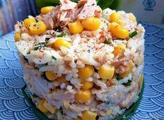 Pyszna i prosta sałatka z tuńczykiem Fried Rice, Quinoa, Food And Drink, Lunch, Vegetables, Cooking, Ethnic Recipes, Impreza, Fit