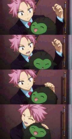 Natsu and Kemo-Kemo Kemo-Kemo was so adorable ❤ Fairy Tail Meme, Anime Fairy Tail, Fairy Tail Natsu And Lucy, Fairy Tail Art, Fairy Tail Guild, Fairy Tail Ships, Fairy Tales, Fairy Tail Family, Fairy Tail Couples