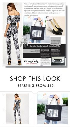 """""""B&W"""" by amra-sarajlic ❤ liked on Polyvore featuring dresslily"""