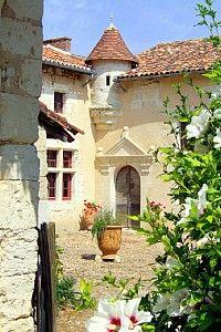Bergerac chateau, France, Dordogne
