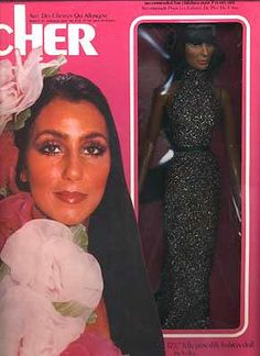 OMG! I had the Cher doll. You stuck a key in her back, turned it and her hair would grow! I learned the hard way...when you cut Cher's hair off, sticking the key in her back and turning it, did NOT make the hair grow. :(