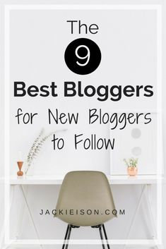 The 9 Best Bloggers for New Bloggers to Follow - (scheduled via http://www.tailwindapp.com?utm_source=pinterest&utm_medium=twpin)