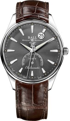 @ballwatchco  Trainmaster Kelvin Fahrenheit #basel-15 #bezel-fixed #bracelet-strap-alligator #brand-ball-watch-company #case-depth-11-8mm #case-material-steel #case-width-39-5mm #cosc-yes #date-yes #delivery-timescale-call-us #dial-colour-grey #luxury #movement-automatic #packaging-ball-watch-company-watch-packaging  #preorder-august #style-dress #subcat-trainmaster #supplier-model-no-nt3888d-llcj-gyf #warranty-ball-watch-company-official-2-year-guarantee #water-resistant-30m