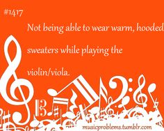 music problems... and I love them both so much.. oh well, violin wins:)
