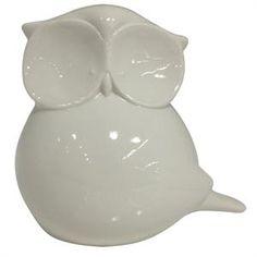 Coruja cerâmica xd0338