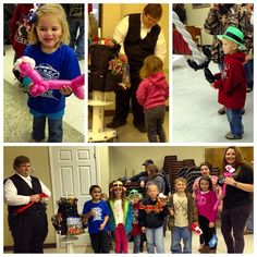 """Word of Life put on a fun pre-show """"Alien Carnival"""" for the kids tonight! One highlight was the awesome #balloonanimals by Caleb Cook - www.calebsballoonanimals.com  -  #kidmin"""