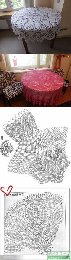 Вязаные скатерти и их бережное использование... Crochet Art, Crochet Round, Crochet Home, Thread Crochet, Filet Crochet, Crochet Motif, Crochet Tablecloth Pattern, Crochet Stitches Patterns, Lace Doilies