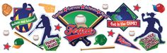 Baseball Bulletin Board Set (EU847676) #classroom #decor #AILtyler
