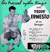 Les tropical rythm Kings avec Teddy Ernesto; SANS L'AMOUR DE TOI; from: 7″ Pacific, France