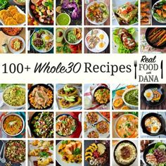 Real Food with Dana's 100  Top Whole30 Recipes!