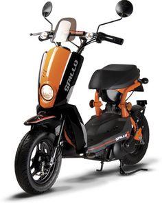 Le Gamax Spillo est un petit scooter urbain