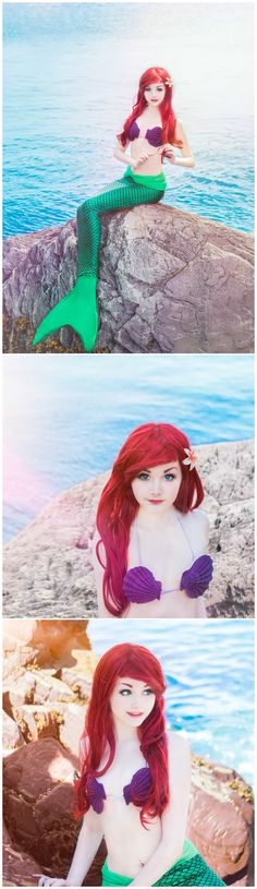 Ariel, The Little Mermaid #cosplay by Srcircusdoll