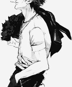 K Project - Mikoto Suoh Manga Boy, Anime Manga, Anime Art, Suoh Mikoto, Return Of Kings, Kuroo Tetsurou, Hot Anime Guys, Anime Boys, Black And White Drawing