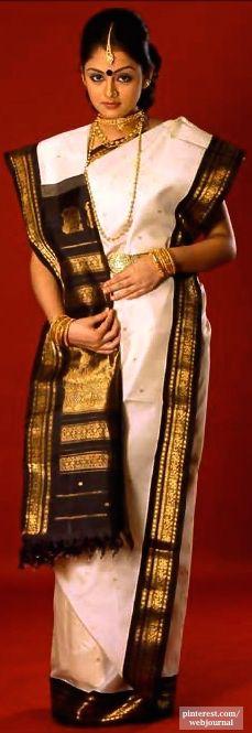 Karnataka Handloom Gadwal Silk - http://www.gourisariasarees.com