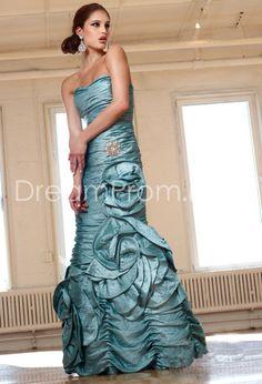 Pretty Mermaid Floor-Length Sweetheart Cocktail/Evening Dresses