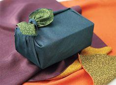 Furoshiki (Japanese multi-tasking cloth gift wrapping)