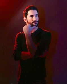 "Tom Ellis — currently playing Lucifer in ""Lucifer"". I fell in love with this actor when he played Dr. Rush in  ""Rush"".  I hate it when a series gets canceled before it's time.... So !"