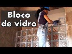 Como assentar bloco de vidro l Faça você mesmo l DIY - YouTube