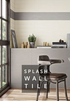 """A tile series made exclusively for Pental Surfaces! Splash is an extended subway tile with subtle texture that's designed to correspond with our popular PentalQuartz collection. Choosing your backsplash, feature wall, or shower wall has never been easier! Now stocked in five neutral colors 4x20"""" and Bullnose 4x20""""."""