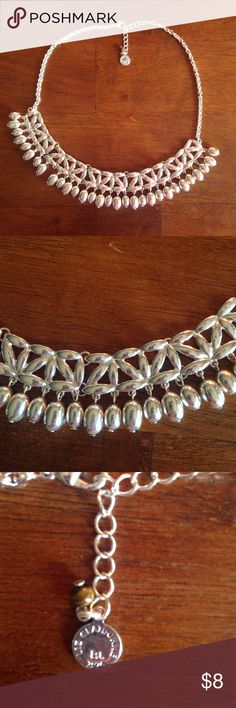 Cleopatra silver necklace Silver tone new no tags. Jewelry Necklaces