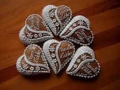 Iced Cookies, Cake Cookies, Sugar Cookies, Cupcakes, Valentine Cookies, Valentines, Biscuits, Cookie Decorating, Gingerbread