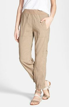 Eileen Fisher Cargo Ankle Pants (Regular & Petite) available at #Nordstrom