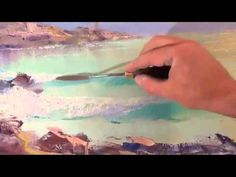 Lezioni di pittura Igor Sakharov Tramonto in mare