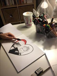 My creation. Illustration & label design. 😉😉😉😉😉😉 #drawing #craft #gift #scketch #label #italy #iphone #instafood #instalike #photooftheday #picoftheday #love #print #style #illustrator #blogger #newpost #disegno #kiss #creativity #illustrazioni #roma #instadraw #labeldesign #scketchbook #illustrationoftheday #handmade #fashionillustration #japan
