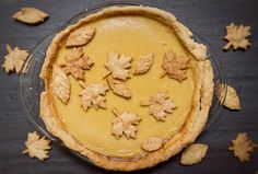 Little Market Kitchen: Rustic Maple-Caramel Pie