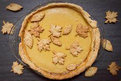 Little Market Kitchen: Rustic Maple-Caramel Pie